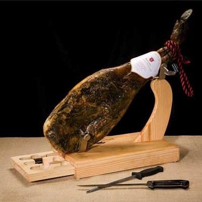 Jamonero + cuchillos
